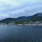 Entering Ketchikan harbor.