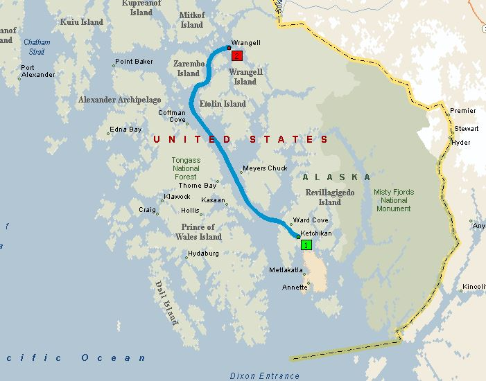 Day 23 Ketchikan to Wrangell