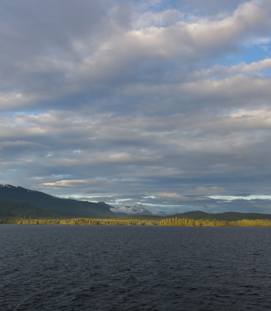 A view from the ferry from Ketchikan to Wrangell.