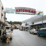 The famous Ketchikan sign.