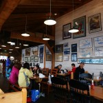 Inside the Alaska Fish House.