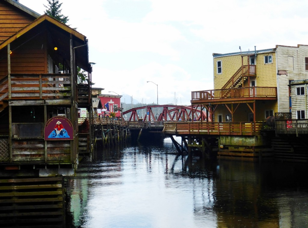 Creek Street, downtown Ketchikan.