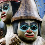 We will see a lot more totems and learn much more about them tomorrow when we go to totem bight.