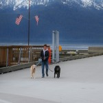 Sunday morning on the Wrangell  pier.