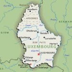 Luxembourg, population 500K, is nestled strategically between France, Germany and Belgium, with Holland a bit farther to the North