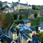 The centuries old fortress city of Luxembourg