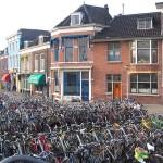 Bikes at the Delft Railroad Station