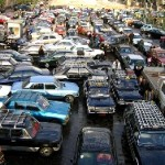 Cairo traffic:  An endless sea of honking ducks