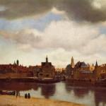 """""""View on Delft"""" -- Vermeer"""