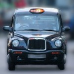 The distinctive rattle of the London Taxi